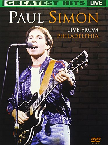 Price comparison product image Paul Simon Live From Philadelphia : Greatest Hits Live