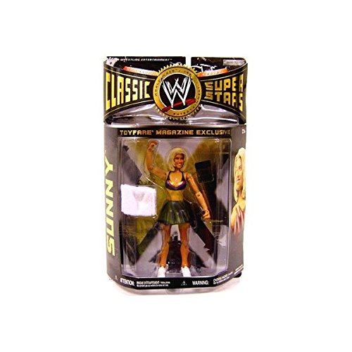 Jakks Pacific WWE Wrestling Classic Superstars Exclusives Sunny Exclusive Action Figure