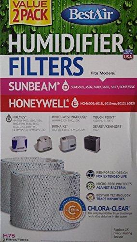 sunbeam humidifier filter 3609 - 4