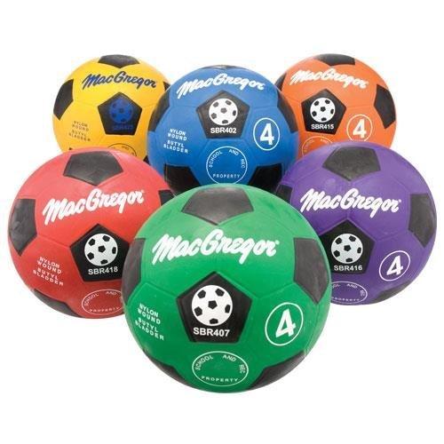 Multicolor Soccerballs (Set of 6) - Size 5 by MACGREGOR
