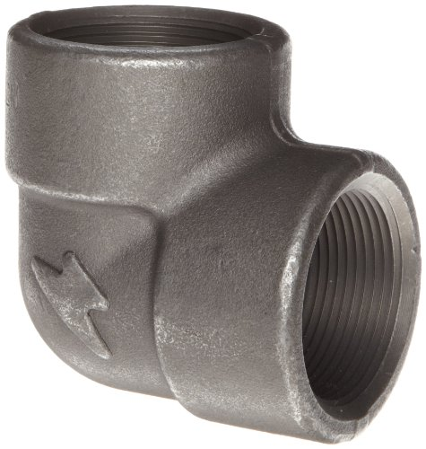 Anvil 2101 Forged Steel Pipe Fitting, Class 2000, 90 Degree Elbow, 3/8