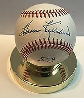 "Harmon Killebrew (d. 2011) Signed Autographed ""573"" Official American League (OAL) Baseball - COA Matching Holograms"