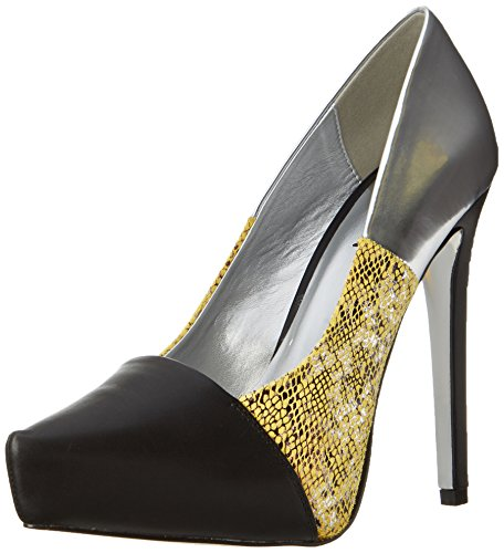 Mujer Two 9 Tacones US Plataforma Steppin de Luichiny Amarillo qwdE6qR