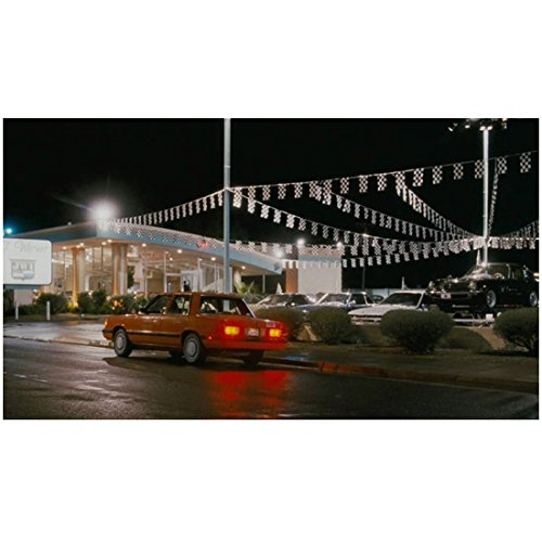 Take Me Home Tonight (2011) 8 inch by 10 inch PHOTOGRAPH Orange Car
