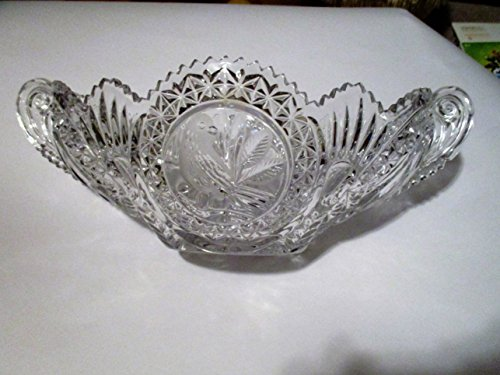 Byrdes Crystal Oval Double-Handled 14