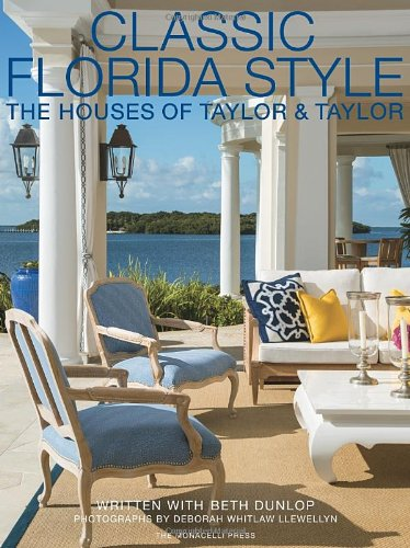 Classic Florida Style: The Houses of Taylor & - Style Flat Illustration