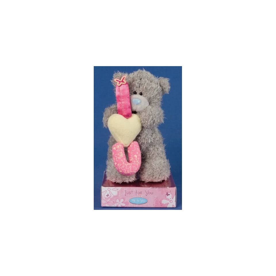 Me to You Tatty Teddy Bear 6(15.24cm) Bear Standing with Ilu Letters
