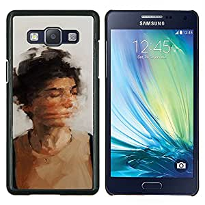 TECHCASE---Cubierta de la caja de protección para la piel dura ** Samsung Galaxy A5 ( A5000 ) 2014 Version ** --sacude tu cabeza