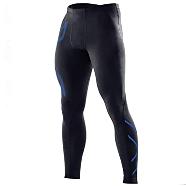 Amazon.com: Quick Dry Compression Pants Men Running Trousers ...
