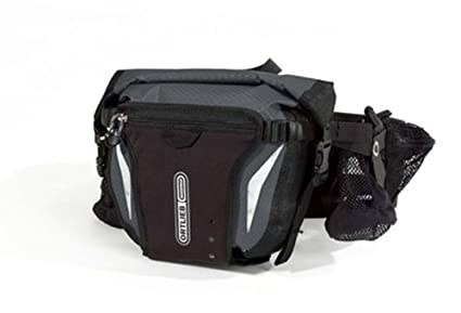 Amazon.com: ORTLIEB HIP PACK 2 BACK PACKS 5 LTR (SLATE/BLACK ...