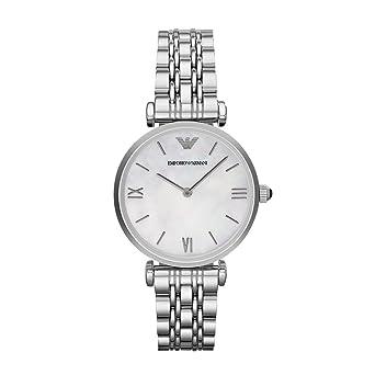 775cfb2d6b Emporio Armani Women's AR1682 Retro Silver Watch