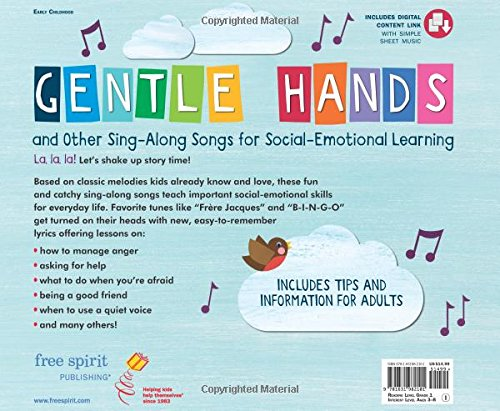 Gentle Hands and Other Sing-Along Songs for Social-Emotional Learning by Free Spirit Publishing (Image #1)