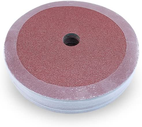 Black Hawk Aluminum Oxide Resin Fiber Discs 7-Inch Diameter x 7//8-Inch Arbor Hole Pack of 25 120 Grit