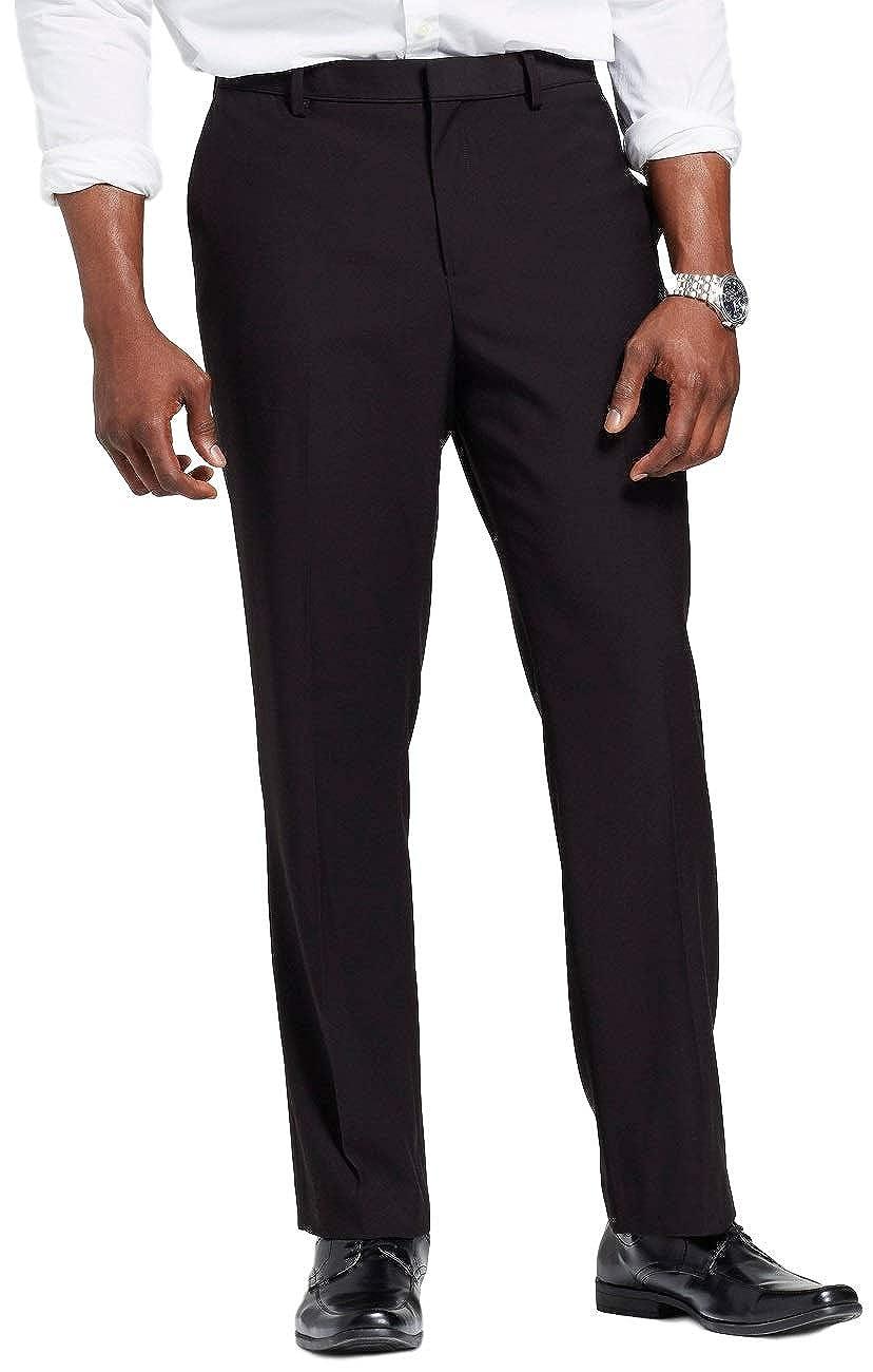 Masked Brand Merona Men's Big & Tall Slim Fit Suit Pants 38W X 36L)