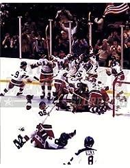 1980 USA Olympic Hockey Team Celebration 8x10 11x14 16x20 1395 - Size 11x14