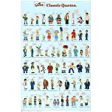 (22x34) The Simpsons (Classic Quotes) TV Poster Print