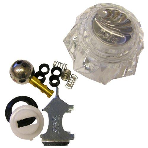 LASCO 01-9341 Delta Acrylic Single Handle Trim Set