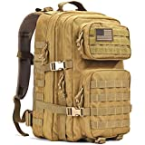 REEBOW GEAR Military Tactical Backpack Large 3 Day Assault Pack Army Molle Bug Out Bag Backpacks