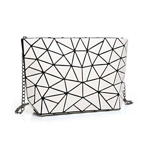 Handbag Envelope Purse Clutch Women Holographic White Bag Laser Orita Shoulder xXfF4