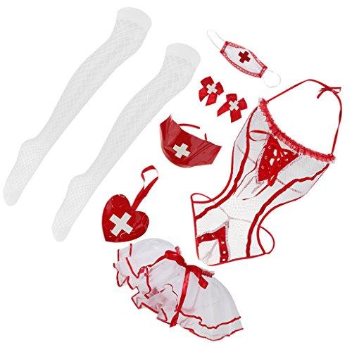 porte vtements Baoblaze String jarretelles dentelle Bas pour Sous Combinaison Femme Bodystocking en Lingerie Rsille noir C4nwqXBwxP