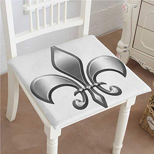 ds Lis Decor Lily Flower Symbol Nobility of Knights in Medieval Time European Iris Cushion Perfect Indoor/Outdoor 32