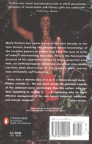 Tale of a Shaman's Apprentice: Amazon.co.uk: Mark Plotkin ...