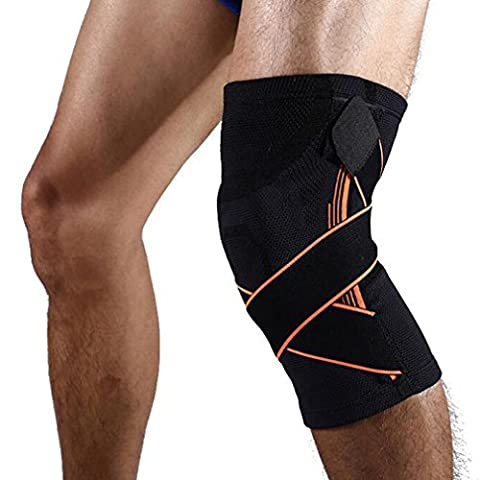 Knee Sleeve , ADiPROD (1 Piece) Adjustable Kneeling Knee Braces Protector Protection Outdoor Sports Climbing Running Cycling Camping Hiking Arthritis Basketball Relieves Pain - Warrior Rock Sliders