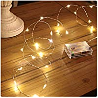 Sanniu Led String Lights, Mini Battery Powered Copper...