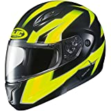 HJC CL-Max2 Ridge Modular/Flip Up Motorcycle Helmet (Hi Viz/Black