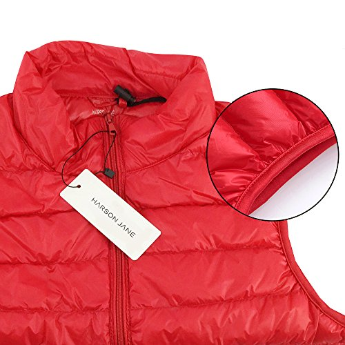 Navy Collapsible White Women's Outdoor amp;Jane Duck Down Gilet Blue 90 Harson Down Gilet Ultralight Light zUYYxO