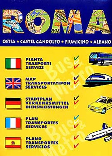 Rome Bus and Metro Map (English, Spanish, Italian and German Edition) ebook