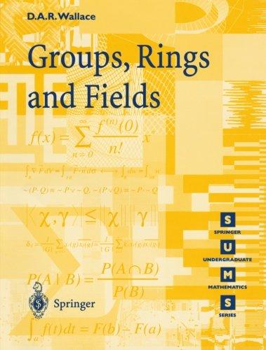 Groups, Rings and Fields (Springer Undergraduate Mathematics Series)