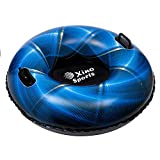 Premium Inflatable Snow Tube, Large 42 inch Diameter, Heavy Duty Design to Provide Hours of Fun