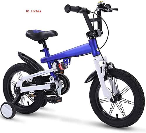 YUMEIGE Kids' Bikes Kids' Children Bike,Children Cycling with Training Wheels, for 14 16 18 Inch Freestyle Bicycle,Kids' Sport Bike, Suitable for 2-12 Years Child 4 Colors Available