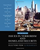 img - for Issues in Terrorism and Homeland Security: Selections From CQ Researcher book / textbook / text book