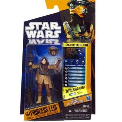 07 Princess Leia as Boushh Hasbro 21374 Star Wars 2010 Saga Legends Action Figure SL No