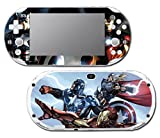 Avengers 2 Movie Iron Man Thor Captain America Hulk 3 Age of Ultron Thanos Video Game Vinyl Decal Skin Sticker Cover for Sony Playstation Vita Slim 2000 Series System