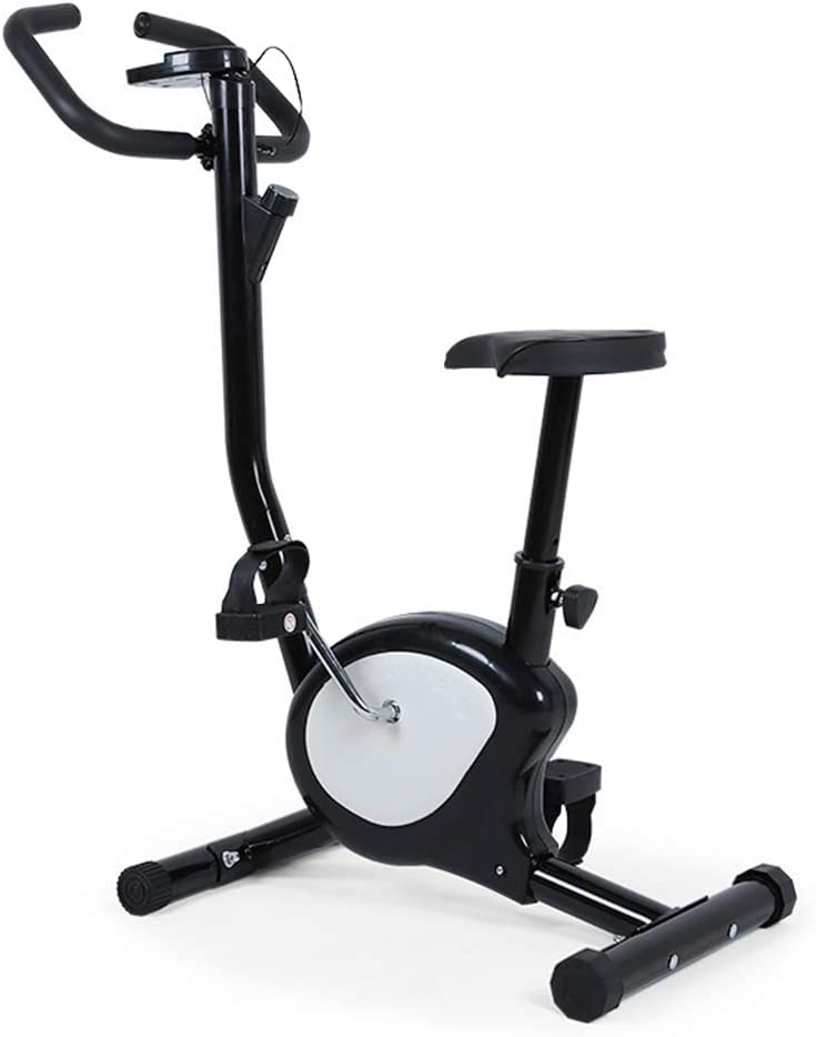 YMXLXL F-Bike, Bicicleta EstáTica con Sensores De Pulso De Mano, con/Sin Respaldo, Plegable, Unisex