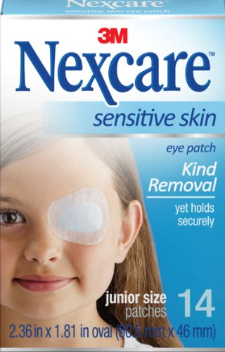 Nexcare Hypoallergenic Eye Patch (Nexcare Sensitive Skin Junior Orthoptic Eyepatch (Pack of)