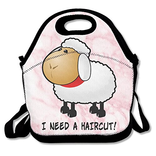 Nngsiko I Need A Haircut Lunch Bag Thermal Insulated Tote Picnic Lunch Cooler Box Pouch Picnic Bento Box