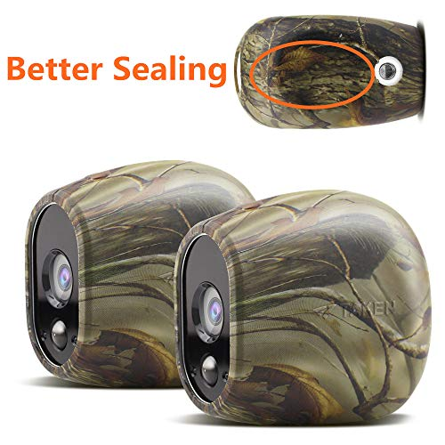 Silicone Skins Compatible for Arlo Smart Security Home Camera,Taken Silicone Skins Case Cover for Arlo Smart Security Wire-Free Cameras, 2 Pack, Camouflage