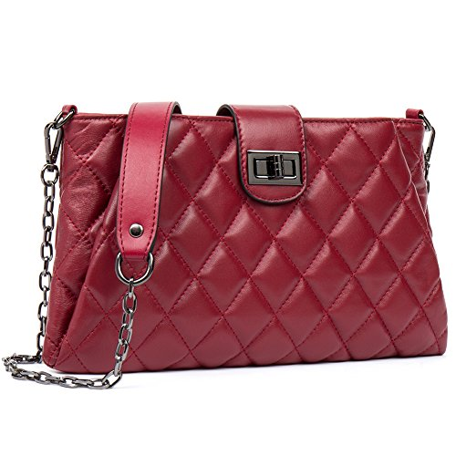 efa6006d4d Details about Women Crossbody Bags Real Leather Body Lambskin Shoulder  Small Handbag