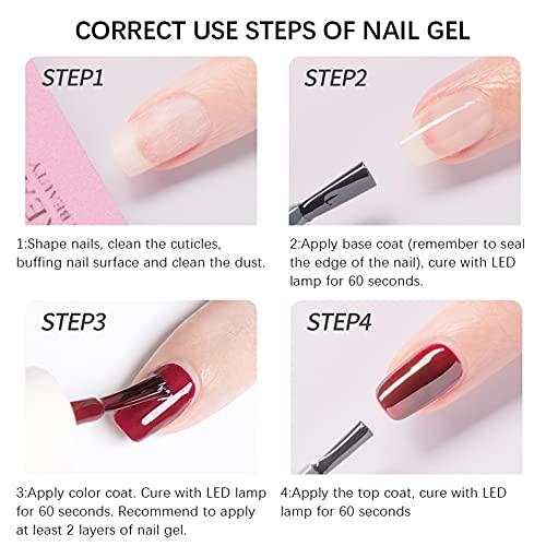 Holographic Nail Polish Gel Nail Art Nail Glitter Polish Suitable For Summer 7ml(B -2)