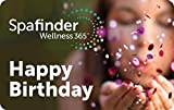 Spafinder Wellness 365 Birthday Gift Cards - E-mail Delivery