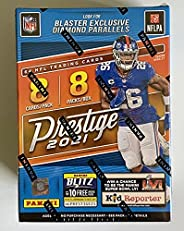 2021 Panini Prestige NFL Football Blaster Box (64 Cards/bx) Look for Blaster Exclusive Diamond Parallel and Me