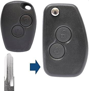 Klapp Schlüssel Umbau Gehäuse Fernbedienung 2 Taste Elektronik