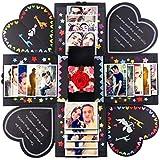 DIY Surprise Love Explosion Box for Anniversary Scrapbook Photo Album birthday Gift