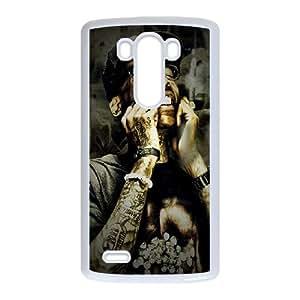Rapper Wiz Khalifa LG G3 Cell Phone Case White DIY present pjz003_6469752