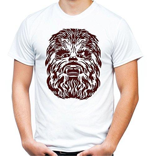 Chewbacca T-Shirt | Star Wars | Han Solo | Vader | Wookie | Droide | R2D2 | Herren | Männer | Millennium Falke