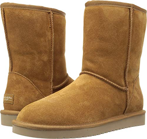 Koolaburra by UGG Women's koola Short Fashion Boot, Chestnut, 07 M US